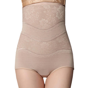 Super High Waist Slim Thin Breathable Shapewear - M Nude - PrettyLadies
