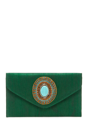 Sky Fold-Over Envelope Clutch