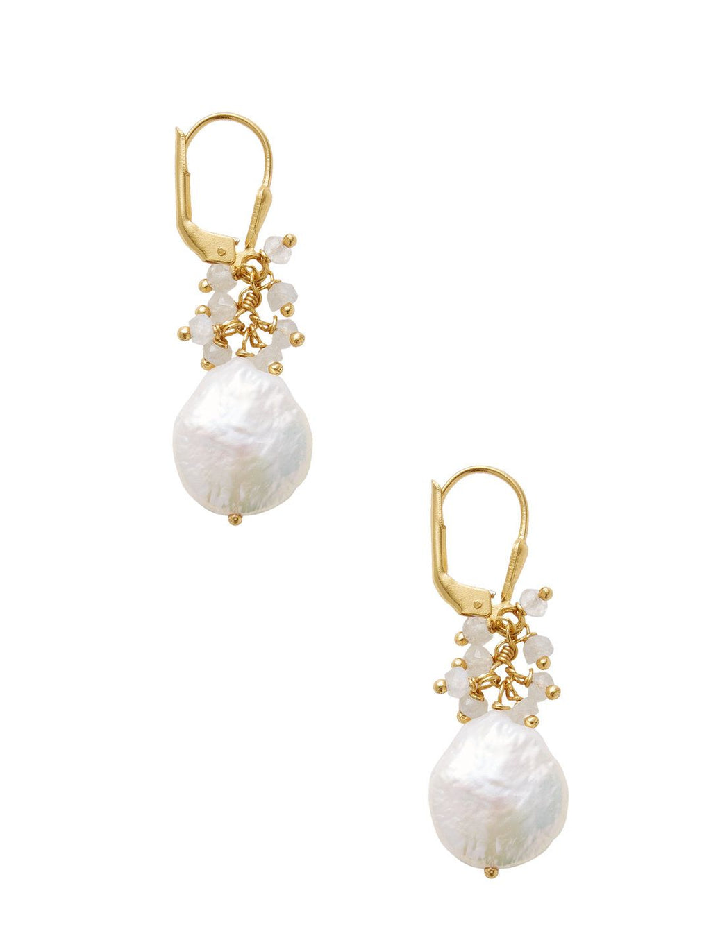 Chantilly Fresh Water Pearl Teardrop Earring