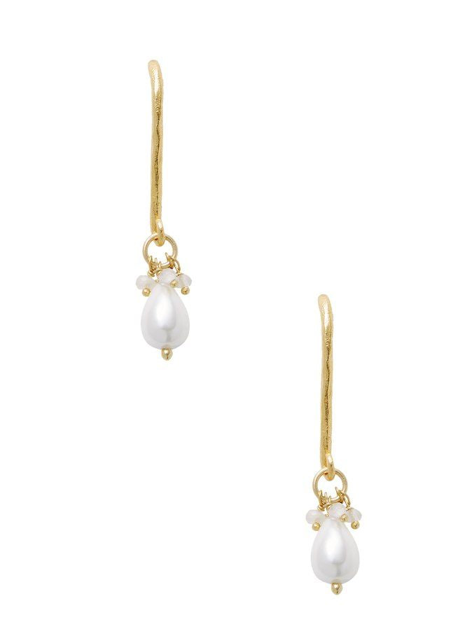 Chantilly Mini Pearl Drop Earrings