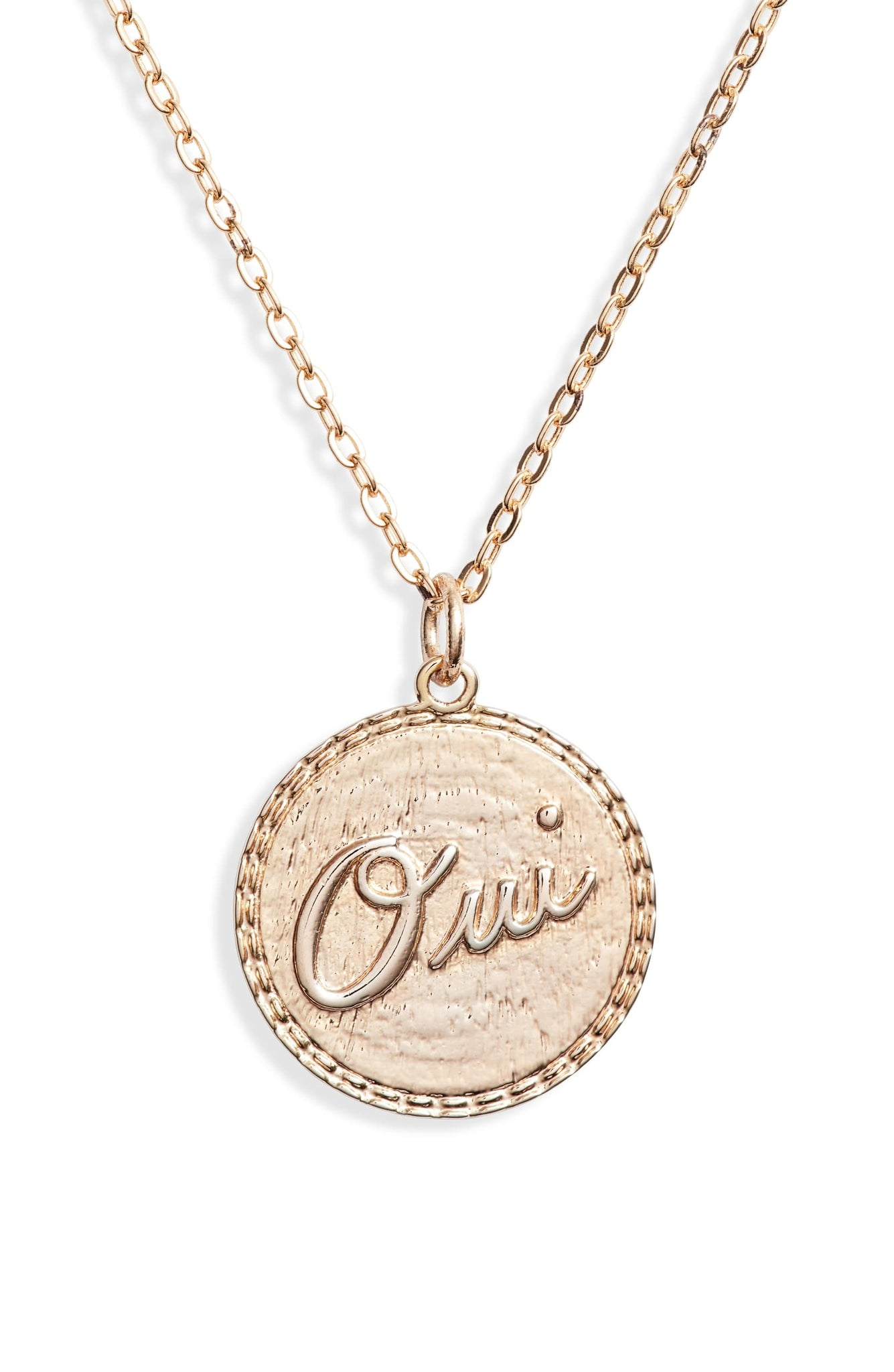 Oui Oui Charm Necklace