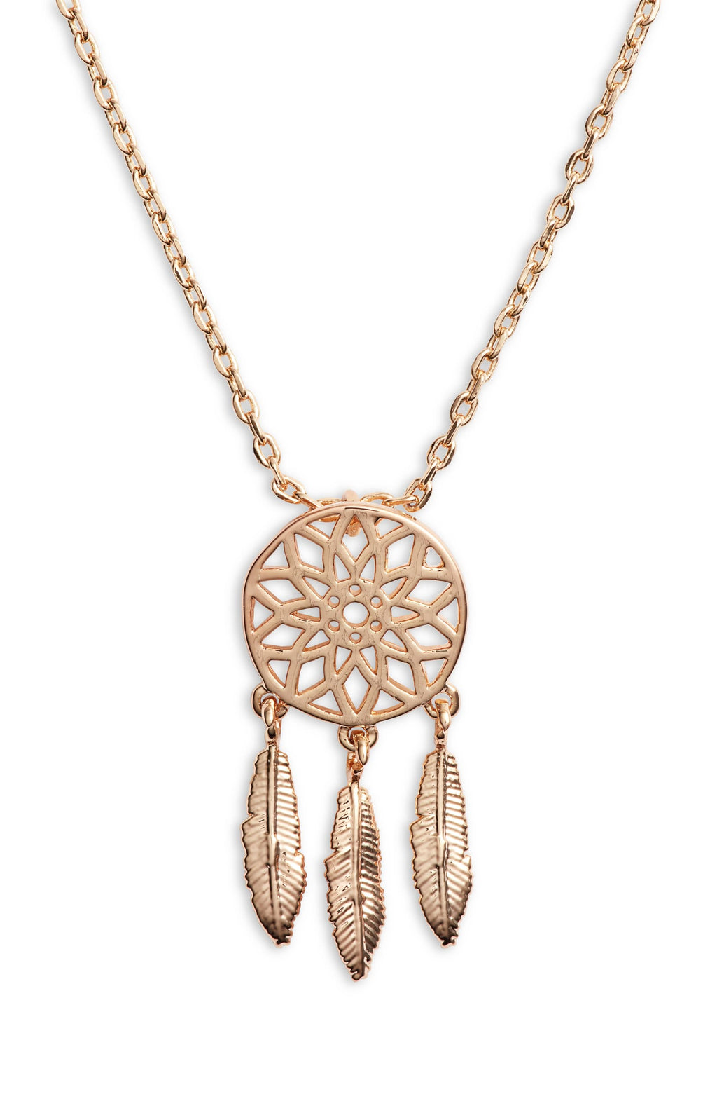 Dreamcatcher Charm Necklace