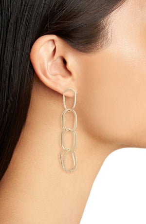 Chain Link Drop Earrings