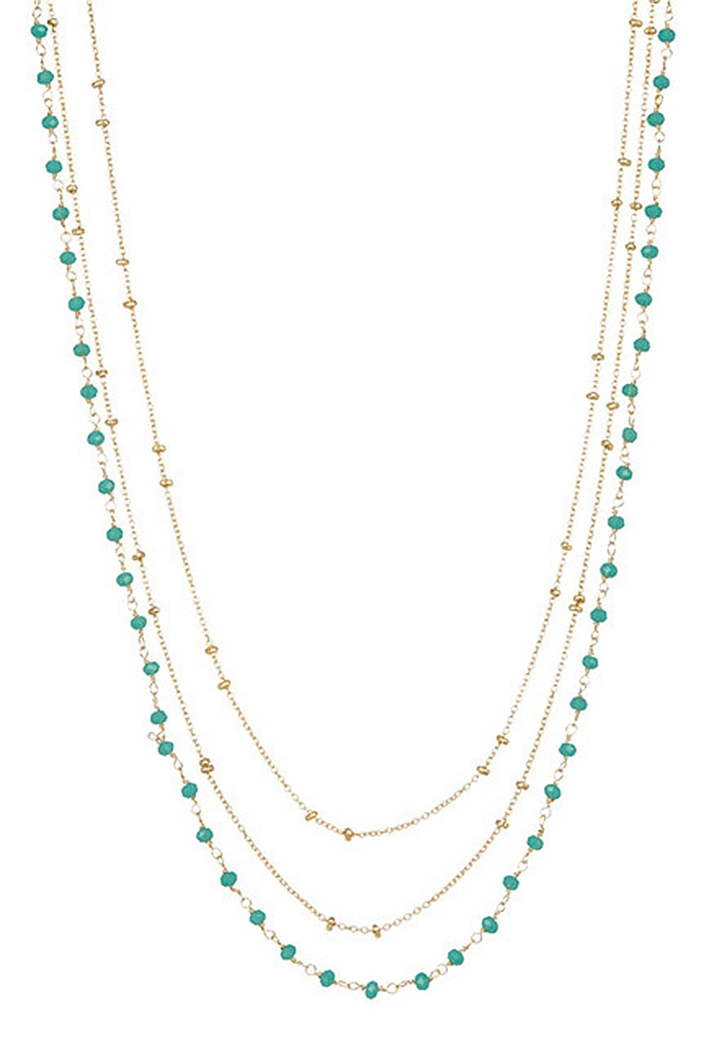 Laguna Collections Triple Strand Necklace
