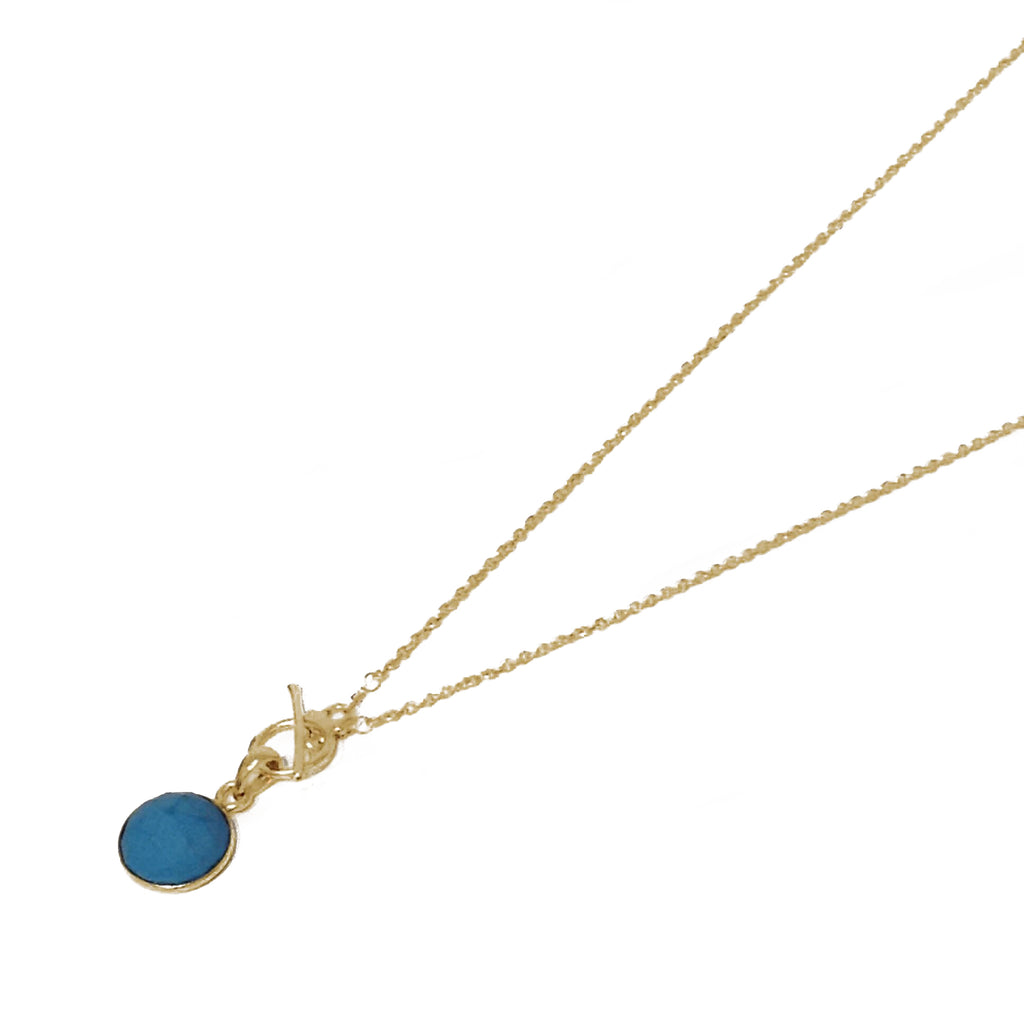 Laguna Collections Turquoise Toggle Necklace