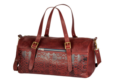 Pendleton Tolavana Leather Debossed Voyager Bag