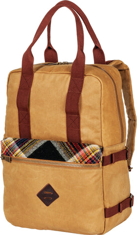 Pendleton Timberline Twill Arcadia Plaid Backpack Tote