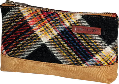 Pendleton Arcadia Plaid Timberline Twill Zip Pouch