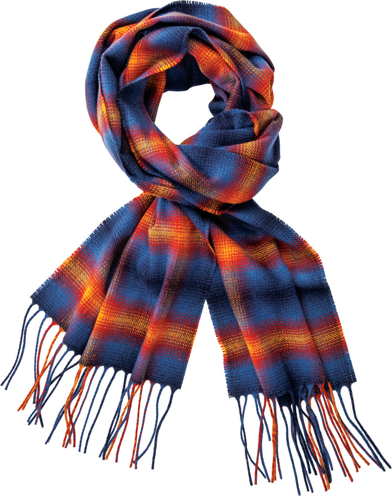 Pendleton Grand Canyon Park Ombre Plaid Whisperwool Muffler