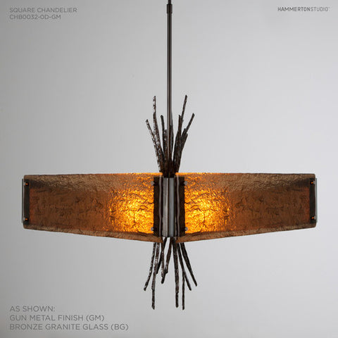 Hammerton Studio Ironwood Square Chandelier