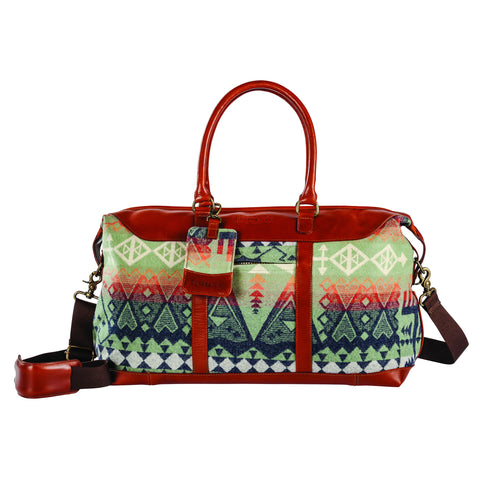 Pendleton Getaway Bag- Arrow Revival Sage