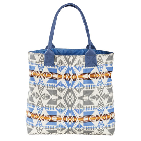 Pendleton Canopy Canvas Tote- Silver Bark