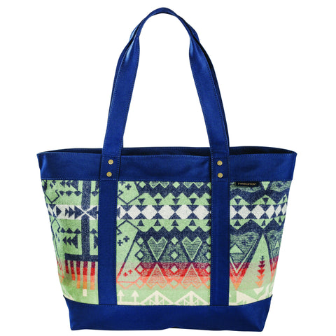 Pendleton Large Zip Tote Arrow Revival Sage