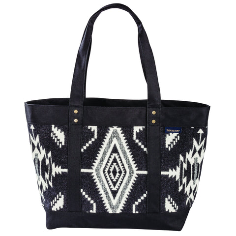 Pendleton Large Zip Tote- Tsi Mayoh Black