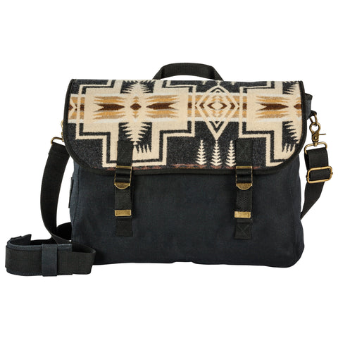 Pendleton New Messenger Bag- Harding Oxford Mix