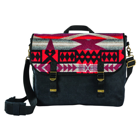 Pendleton New Messenger Bag- La Paz Scarlet