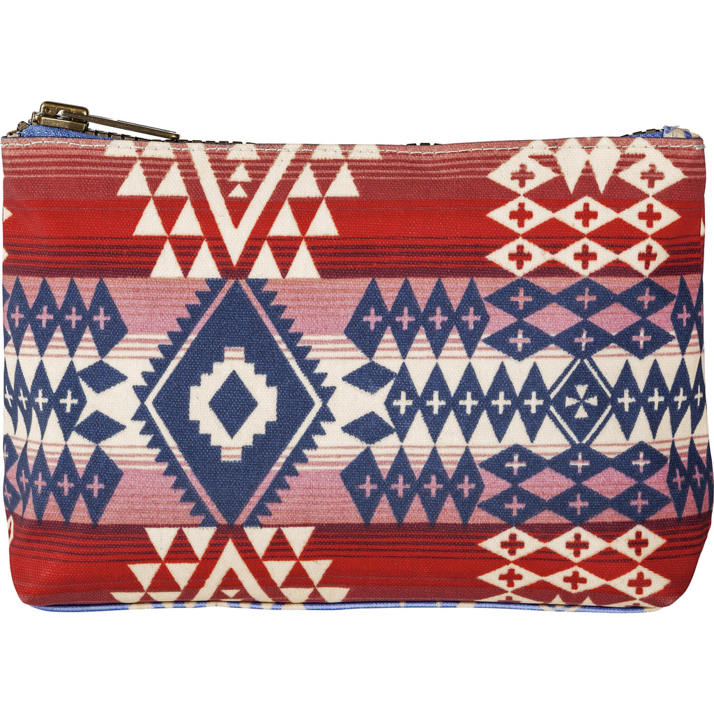 Pendleton Canopy Canvas Zip Pouch- Canyonlands