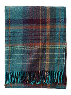 Pendleton Jewel Plaid Lambswool Throw