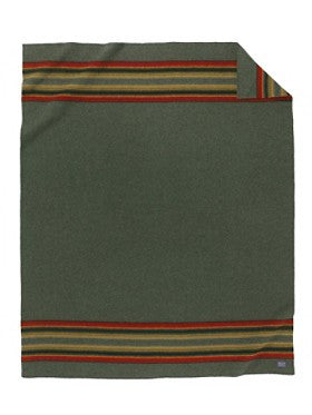 Pendleton Yakima Camp Blanket- Green Heather