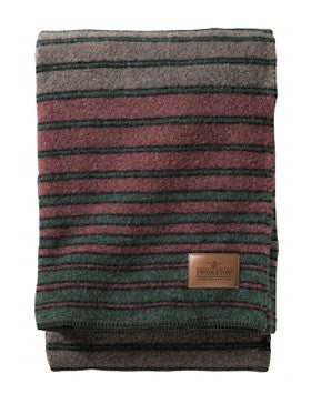 Pendleton Hemrich Stripe Camp Blanket