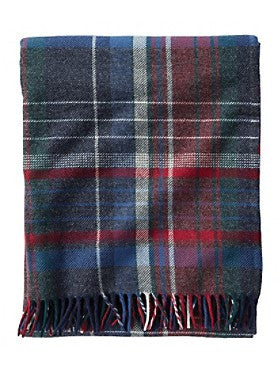 Pendleton Americana Plaid Lambswool Throw