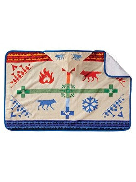 Pendleton Coyote Steals Hooded Baby Towel