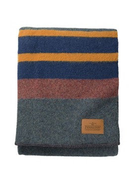 Pendleton Yakima Camp Blanket- Lake