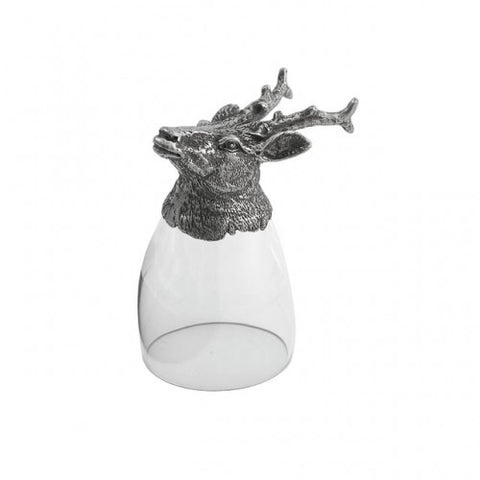 Arte Italica Animale Liqueur Glass-Stag