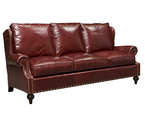 Leather Sofa- 1980