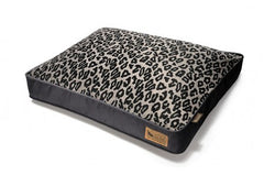 P.L.A.Y. Serengeti Rectangular Pet Bed- Copper/Dark Gray