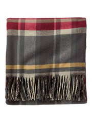 Pendleton 5th Ave. Merino Wool Throw- Breslin Plaid
