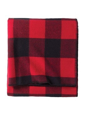 Pendleton Washable Eco-wise Wool Plaid Easy-care Blanket- Rob Roy