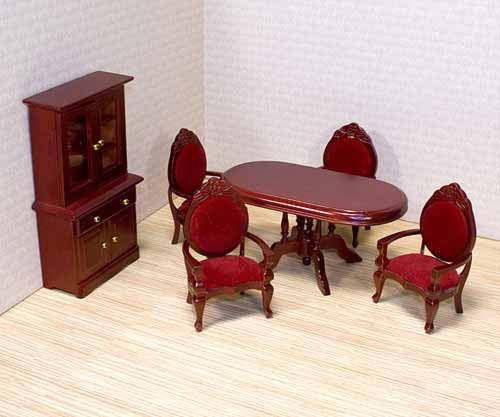Melissa & Doug Dining Room Furniture Set {Fits Victorian Dollhouse}