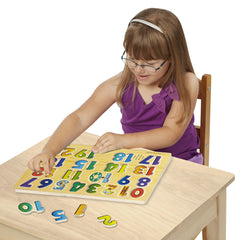 Melissa & Doug Numbers Sound Puzzle- 21 Pieces