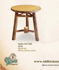 Old Hickory No. 99 Replica End Table