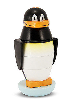 Melissa & Doug Penguin Stacker Wooden Toddler Toy