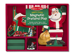 Melissa & Doug Santa Clause Magnetic Dress Up Set