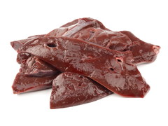 raw beef liver for dogs