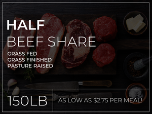 Half Beef Share (Deposit Only)