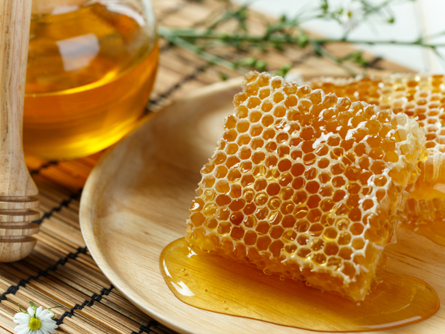 Raw, Local Wildflower Honeycomb