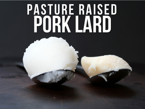 Rendered Pastured Pork Lard