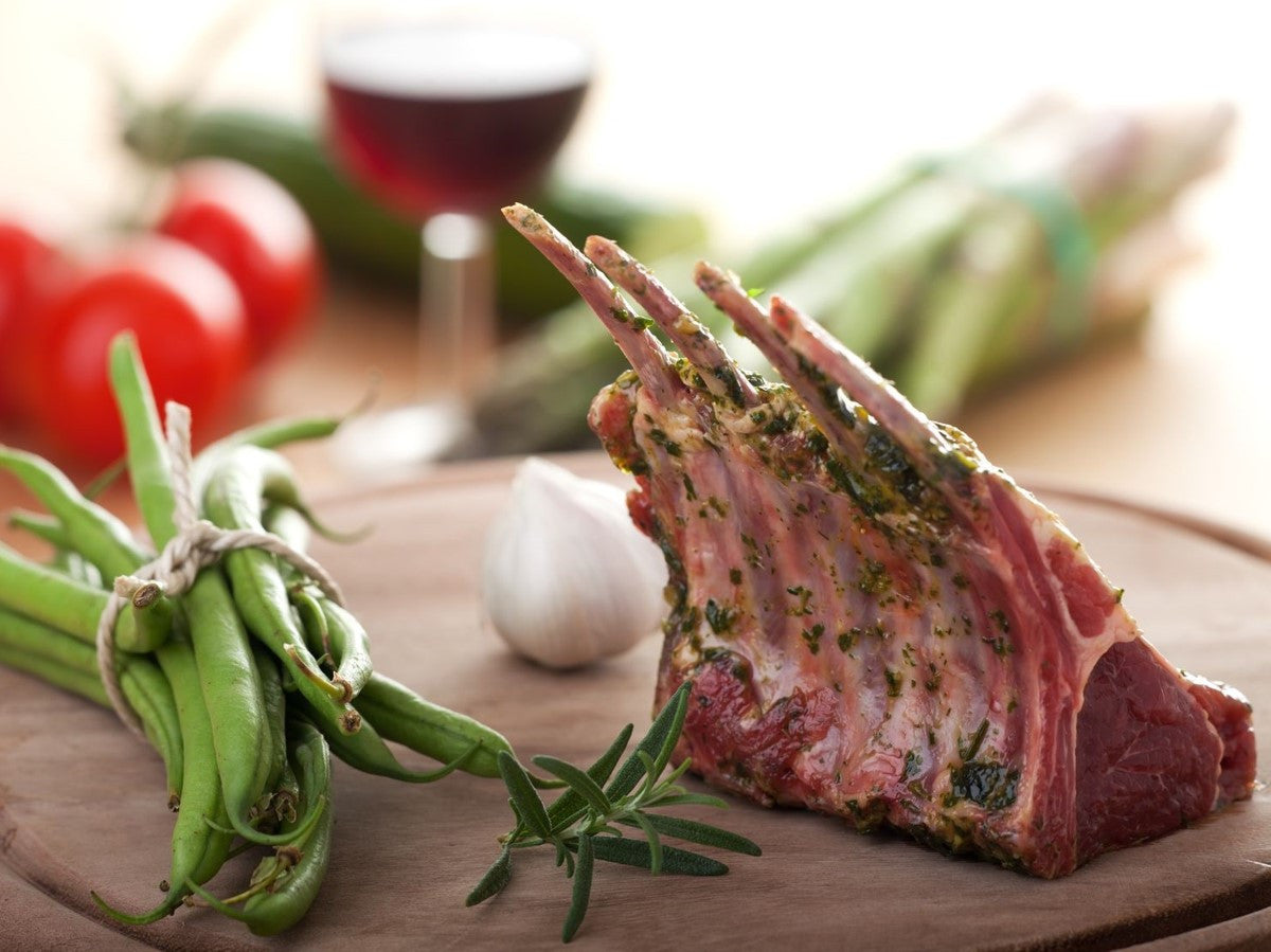 Primal Rack of Lamb, Frenched