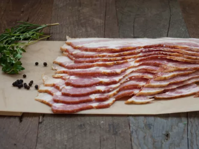 Naked Bacon (Sliced)