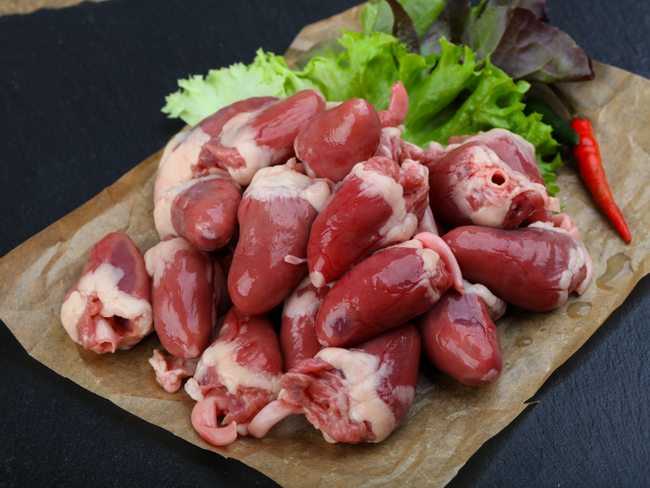 pasture raised chicken hearts