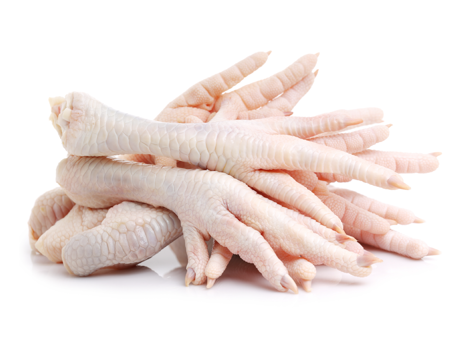 pasture raised chicken feet