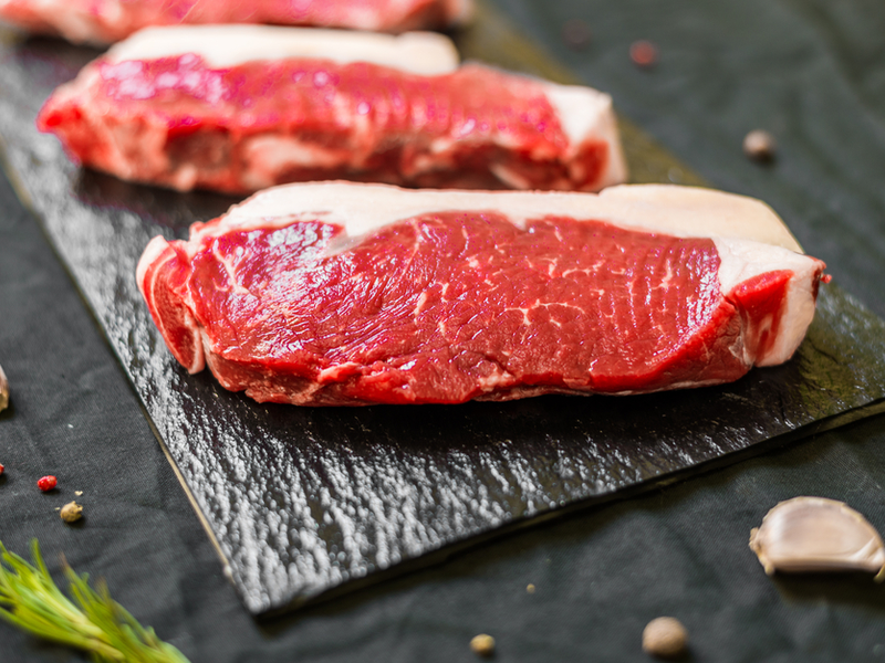 Pastured Beef New York Strip Steak