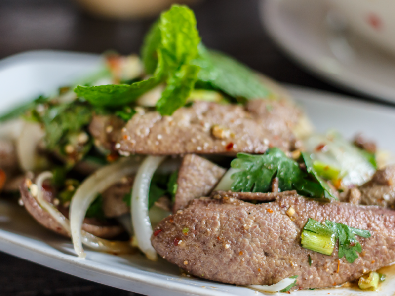 organic thai pork liver recipe