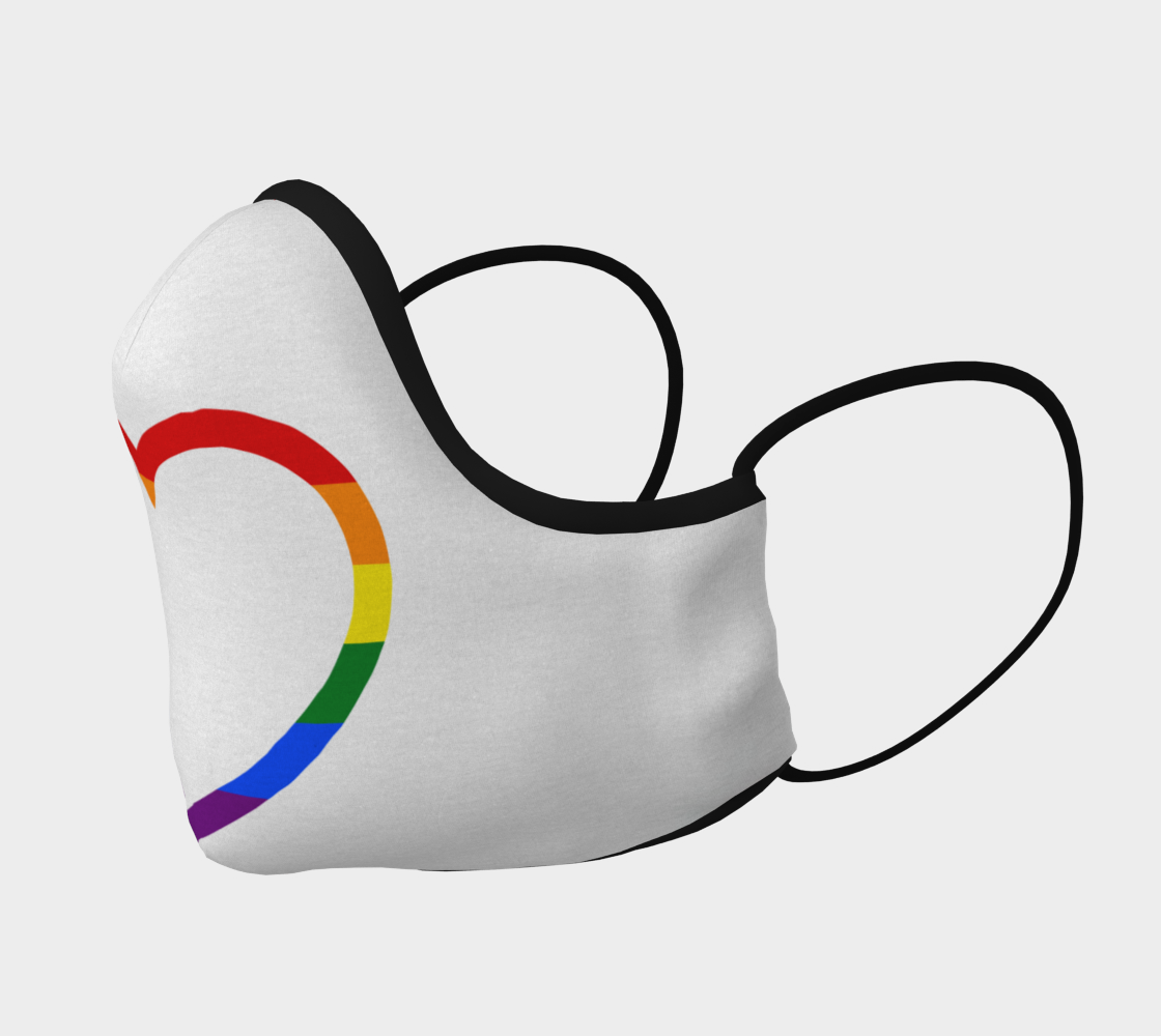Heartful Pride Mask
