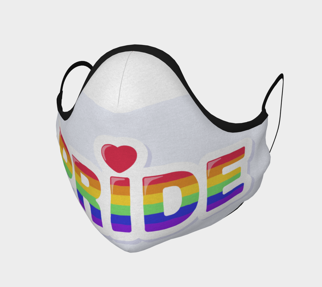 Colorful Pride Mask