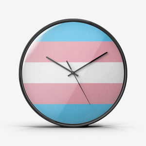 Transgender Pride - Wall Clock Silent Non Ticking Quality Quartz